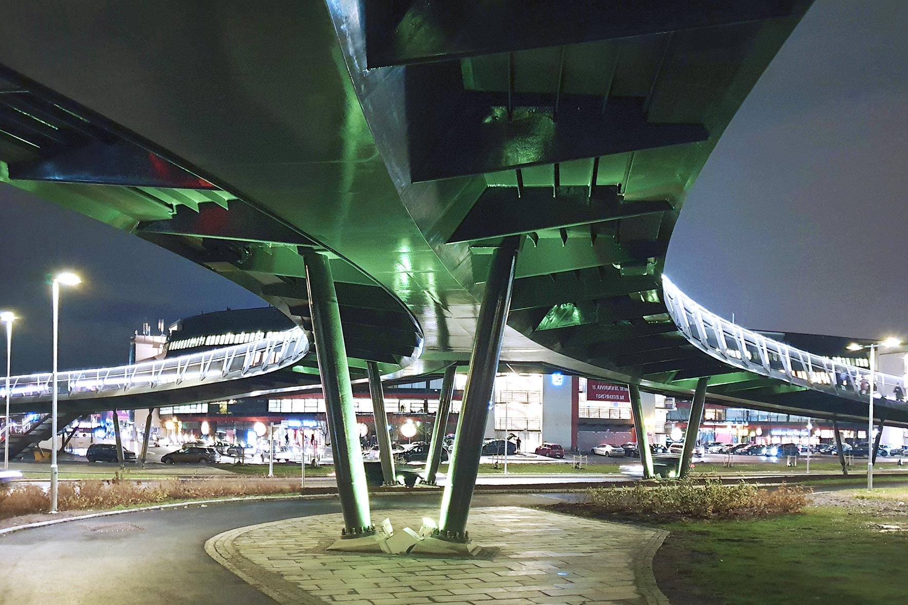 Ullevål Stadium Footbridge