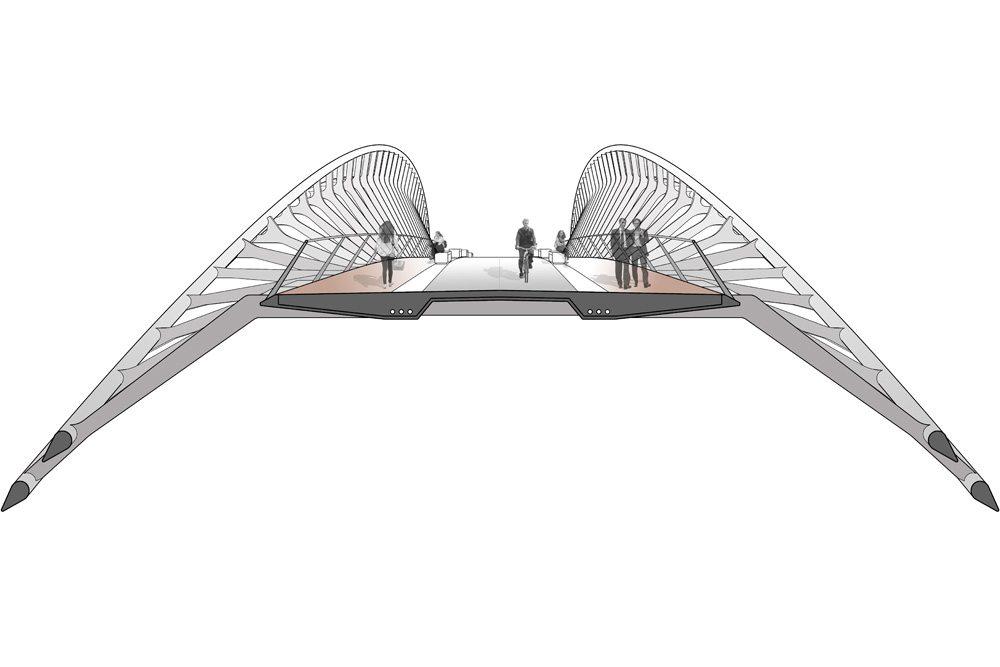 Nine Elms Footbridge