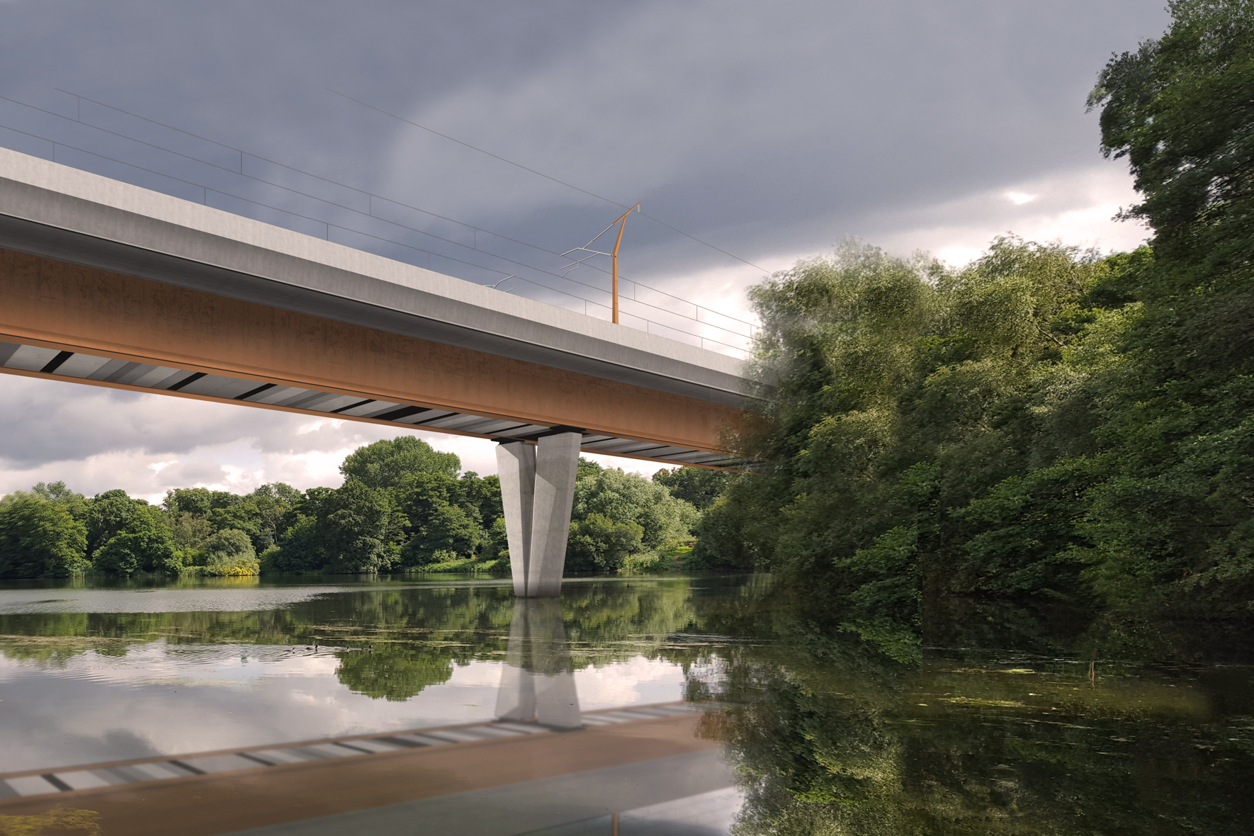 HS2 Colne Valley Viaduct