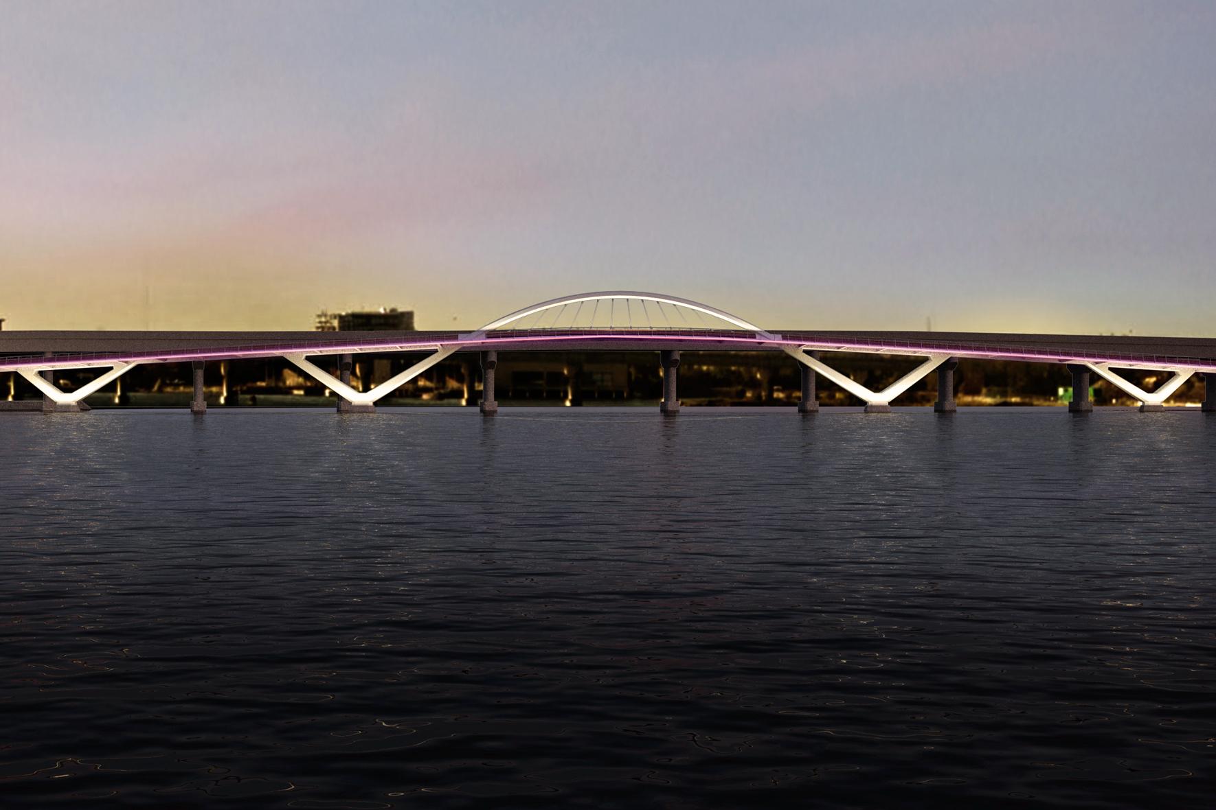 Mystic River Footbridge