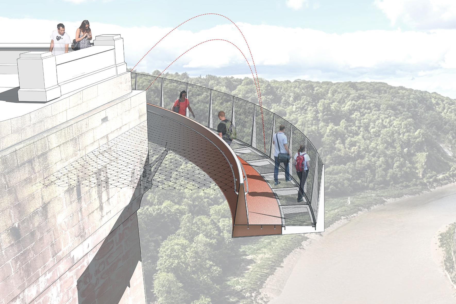 Clifton Suspension Bridge Walkways
